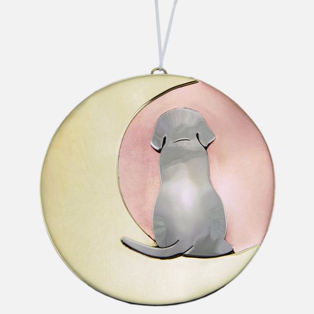 Moonbeam Puppy Ornamental Charm