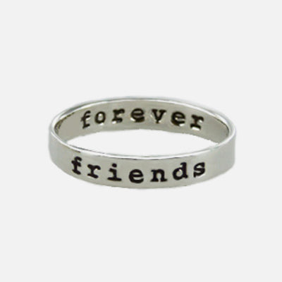Friends Forever Sterling Ring