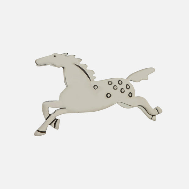 Full Gallop Sterling Brooch Pin