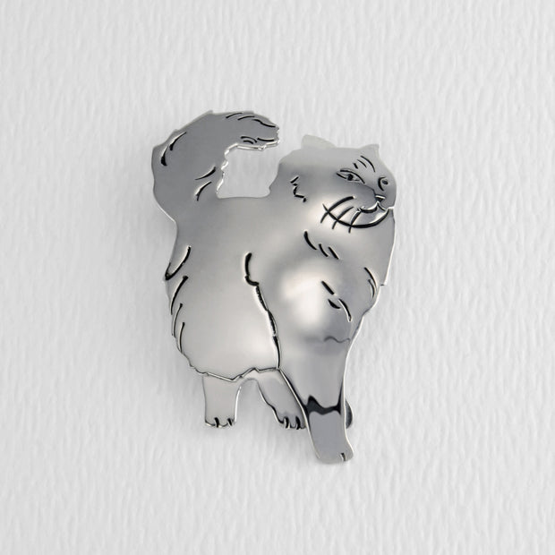 Pawsitively Purrfect Brooch Pin