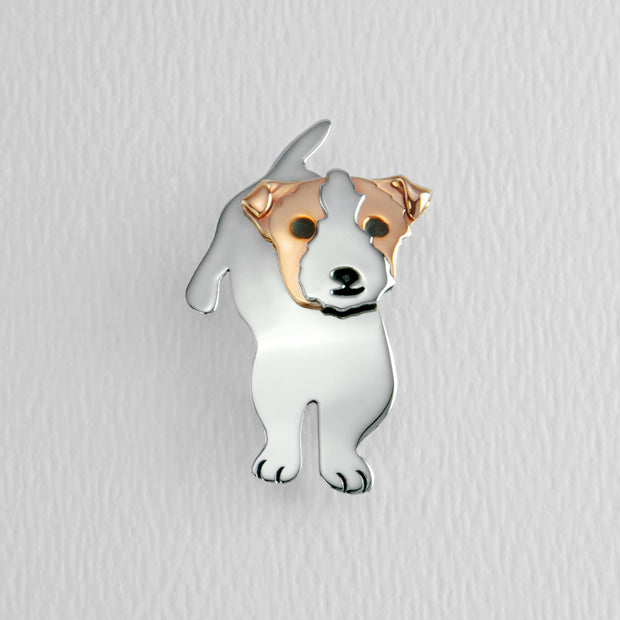 Jack Russell Terrier Brooch Pin