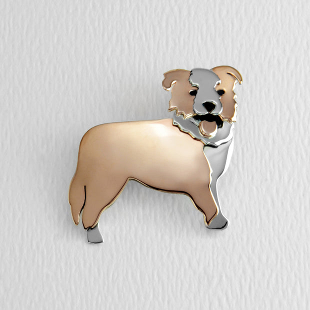 Australian Shepherd Brooch Pin