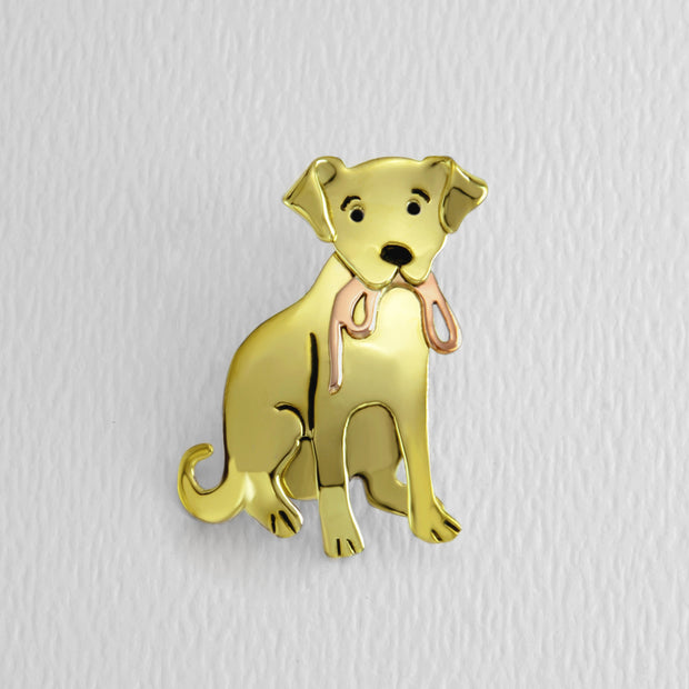 Labrador Retriever Brooch Pin