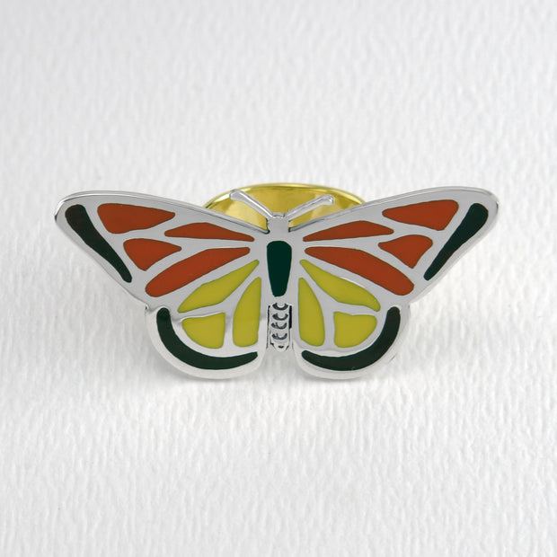 Monarch Butterfly Ring in Full Color