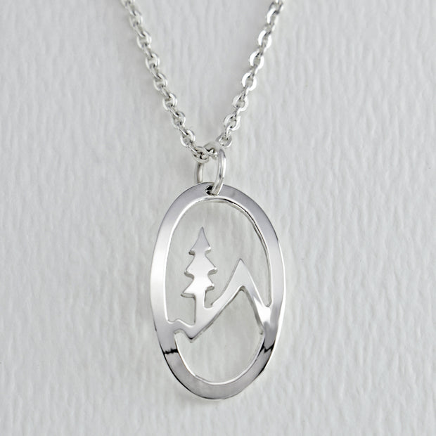 Mountain Tree Necklace