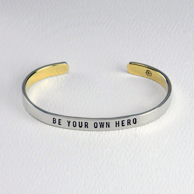 Be Your Own Hero Cuff
