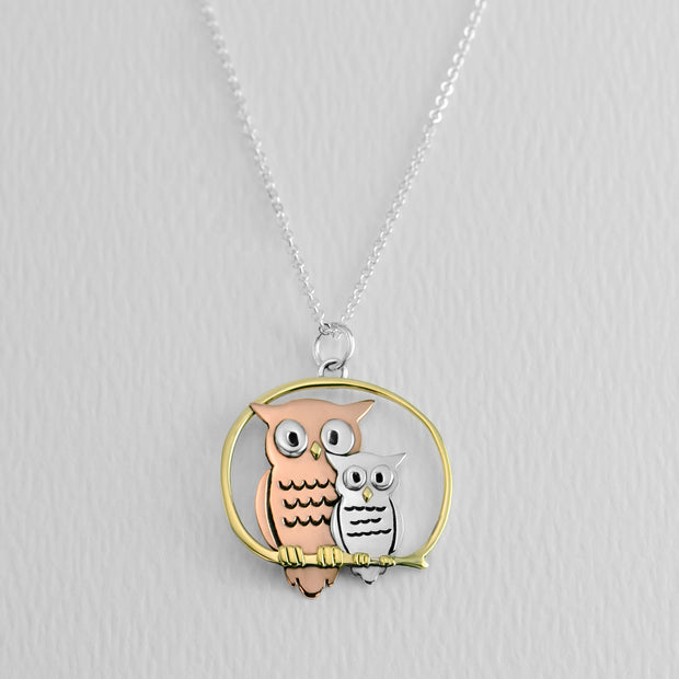 Mama Owl Necklace