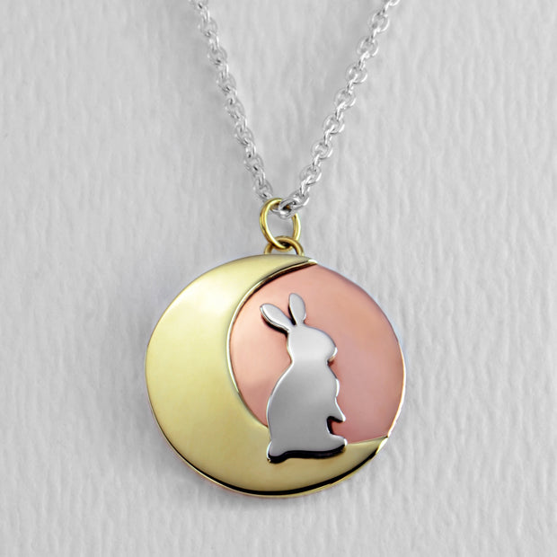 Moonbeam Bunny Necklace