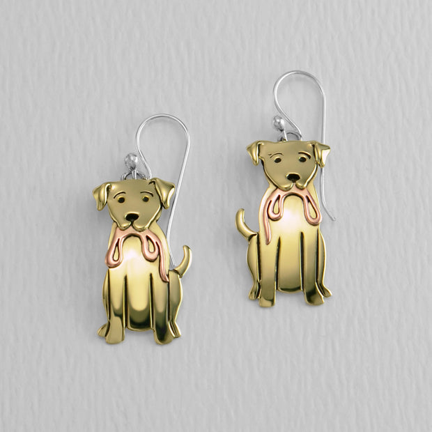 Labrador Retriever Wire Earring