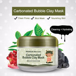 #1 Carbonated Bubble Clay Face Mask Facial Cleaning BIOAQUA Skin Care - OptimalDealz