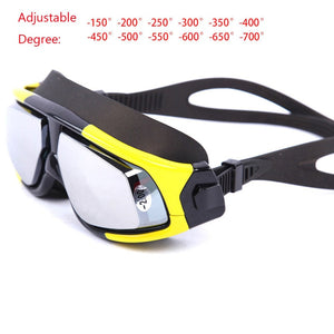 Anti Fog Swimming Goggles with UV-resistant lens - OptimalDealz