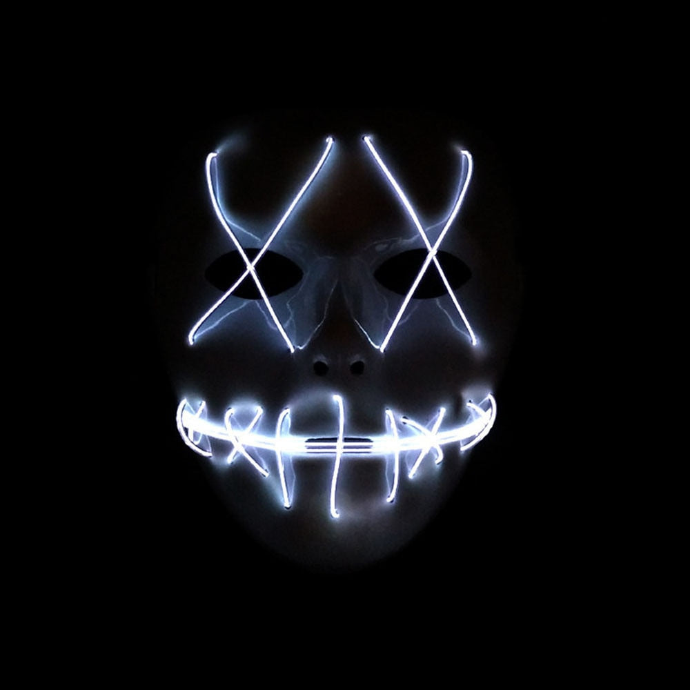 hot purge led mask - halloween mask – optimaldealz