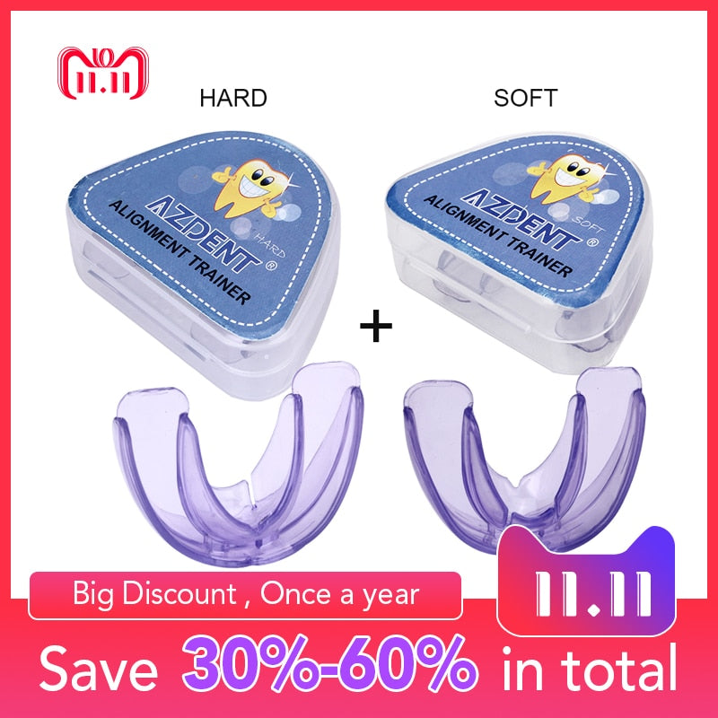 Orthodontic Braces Dental Braces Instanted Silicone Smile Teeth Alignment