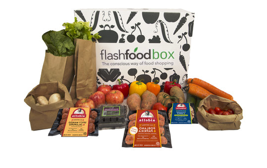 Produce & Protein Box