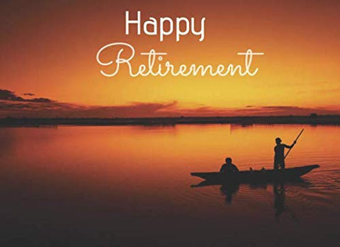 Happy Retirement: Unique Guestbook Keepsake For Your Guests To Write In At Your Special Farewell Event.