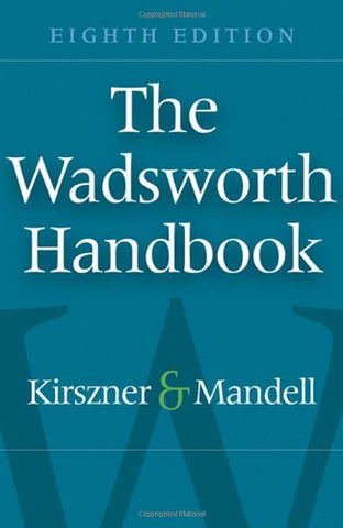 The Wadsworth Handbook (Available Titles Cengagenow)