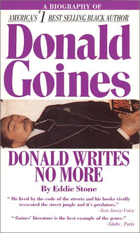 Donald Writes No More