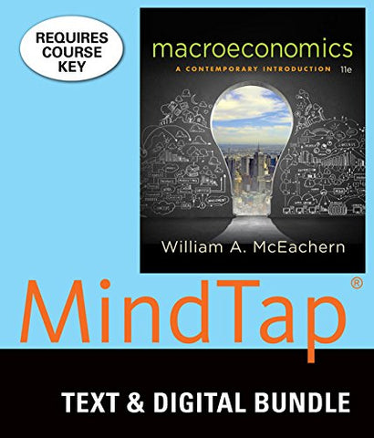 Bundle: Macroeconomics: A Contemporary Introduction, Loose-Leaf Version, 11Th + Mindtap Economics, 1 Term (6 Months) Printed Access Card