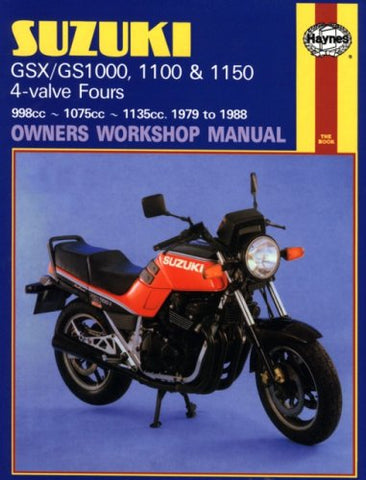 Suzuki Gsx/Gs1000, 1100 & 1150: 1979 To 1988 (Owners Workshop Manual)