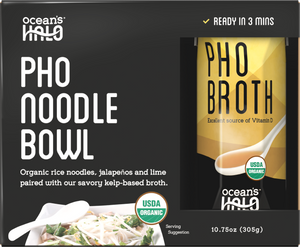 Organic and Vegan Gluten-free Instant Pho Noodle Bowl