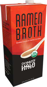 Organic and Vegan Ramen Broth