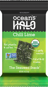 Chili Lime Seaweed Snacks