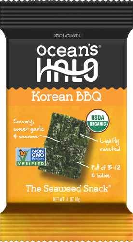 Korean BBQ Seaweed Snacks