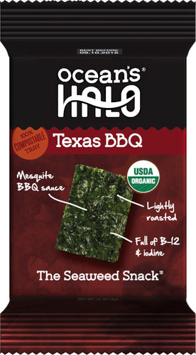 Texas BBQ Seaweed Snacks