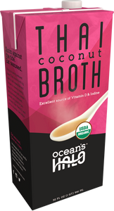 Organic and Vegan Thai Coconut Broth