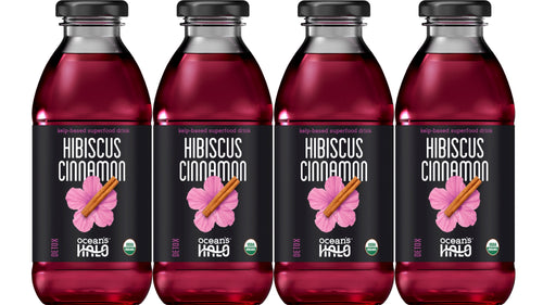 Organic Hibiscus Cinnamon Deep Sea Waters