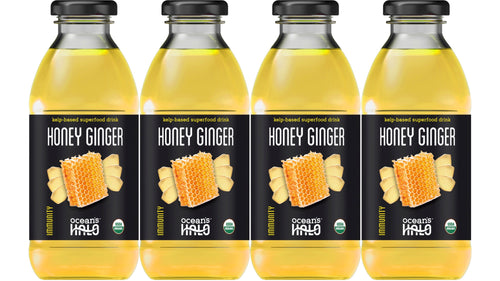 Organic Honey Ginger Deep Ocean Water Drinks