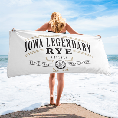 Iowa Legendary Rye Beach Towel