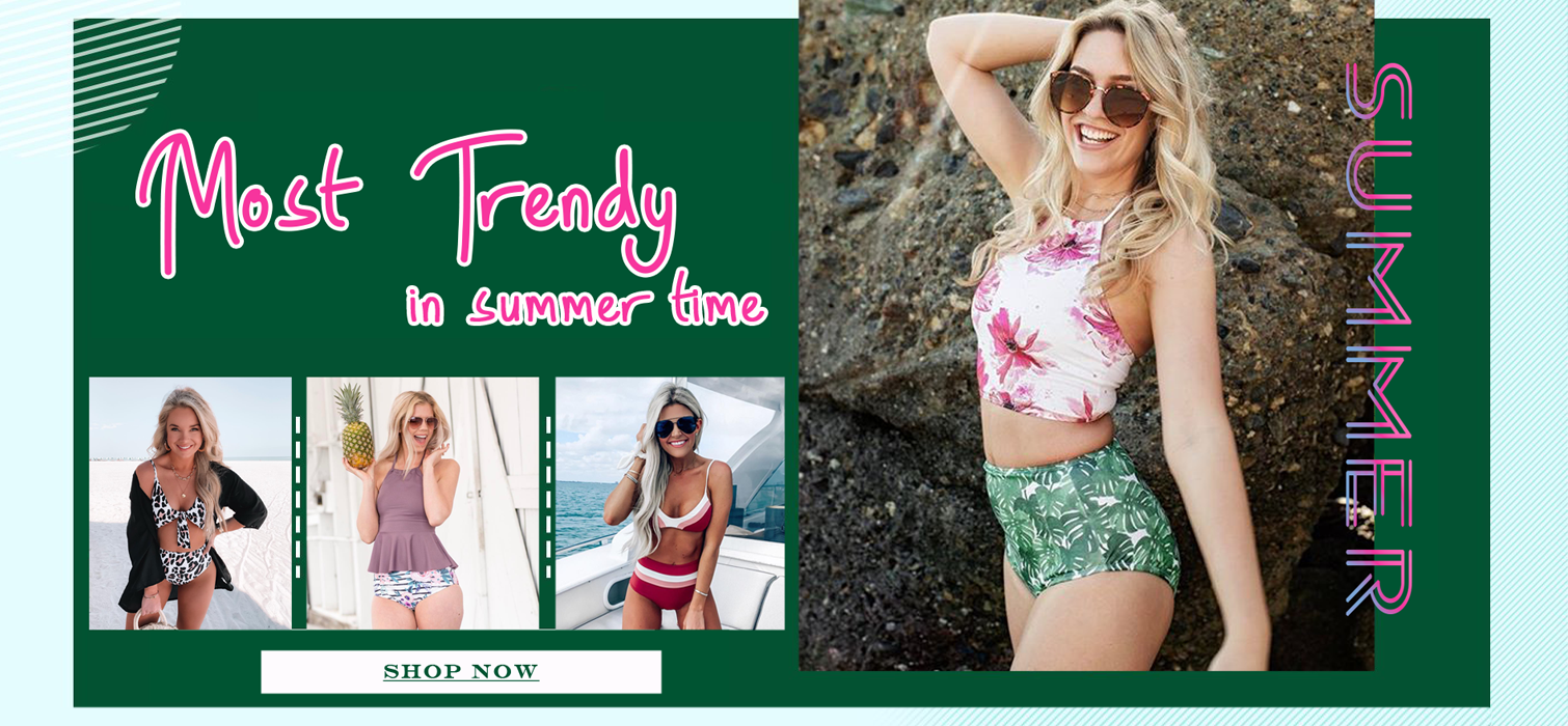 f9f0bd52dcd4 Trendy Fashion Style Women's Swimsuits Online Store   Chicseagal