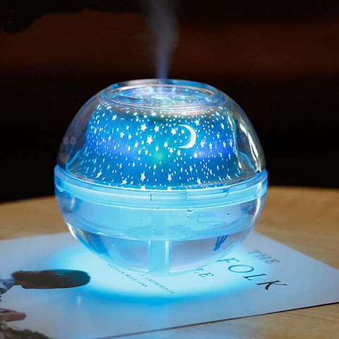 USB Crystal night lamp air humidifier