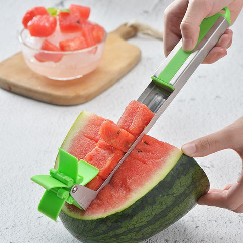 Creative windmill watermelon cutter