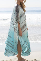 Side Slit Fashion Cover Up