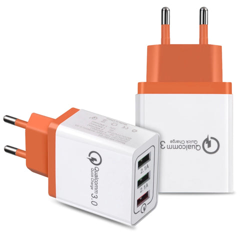 Chicseagal Universal 18 W USB Quick Charge 3.0 5V 3A