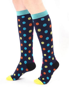 Designer Compression Socks 20-30 mmHg Support Stockings for Circulation, Swelling & Energy
