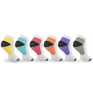 Unisex Ankle-Length Compression Socks 5 Pairs +1 Free Sock