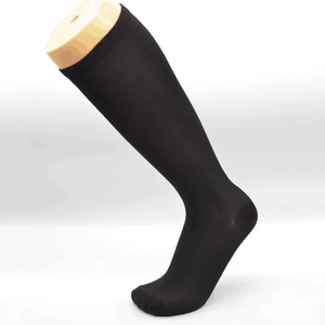 Pure color compression socks- simple but energy.