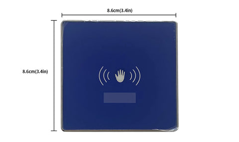 86 type touchless hand sensor switch