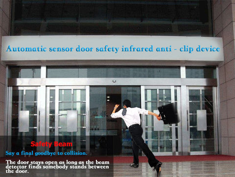 safety beam for automatic door