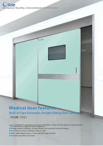 Olide Built-in Type Automatic Airtight Medical Door