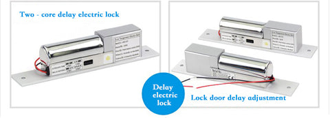 Electric lock for automatic sliding door system