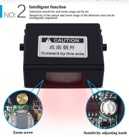 passive infrared sensor features
