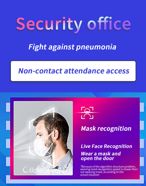 Olidesmart Dynamic Face Recognition Access Control System