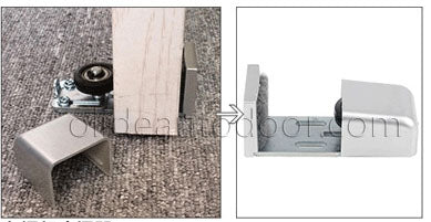floor guider for framed door