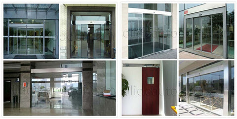 automatic sliding door opener installation examples