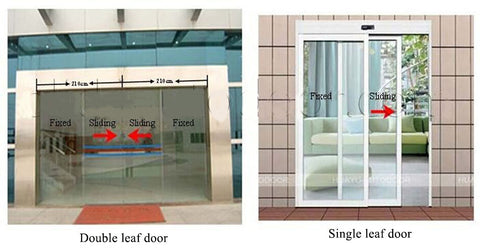 sliding door type