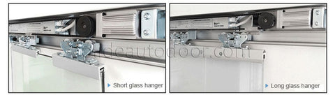 frameless glass door automatic sliding door